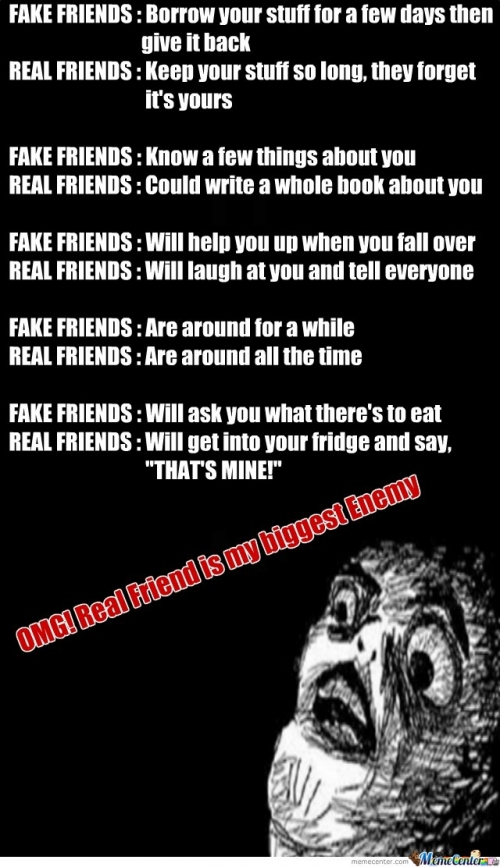 Quotes About Anger And Rage: Real Friend Memes. Best Collection Of Funny Real Friend
