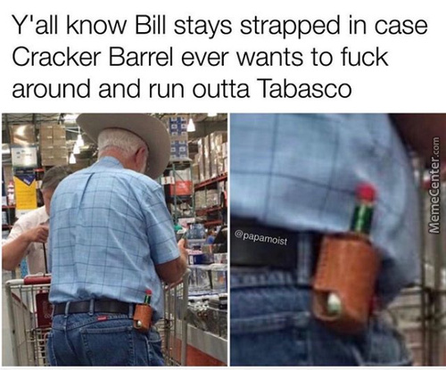 Bill Doesn't Mess Around