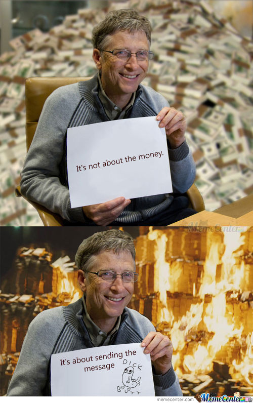Bill Gates Being Joker