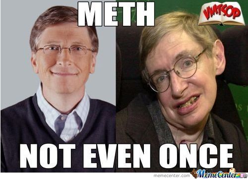 Bill Gates On Meth