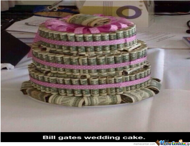 meaning behind feeding wedding cake bill gates wedding cake by cjrodzvprint rodz 9 meme center 17236