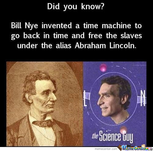 Bill Nye The Antislavery Guy