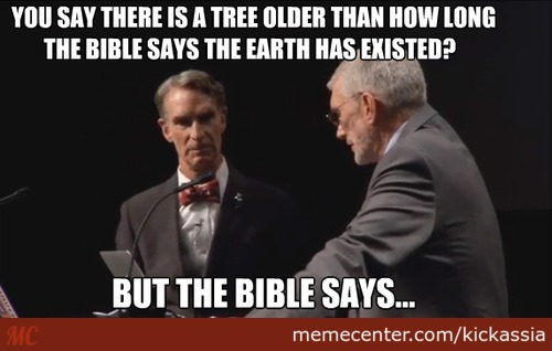 Bill Nye Used Science And Evidence To Support That The Earth Is Older Than 4000 Years, But Wait, He Have An Old Book!