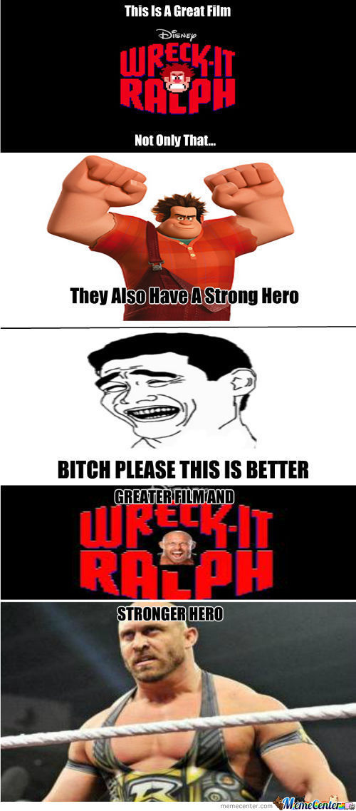 Bitch Please This Is Ryback