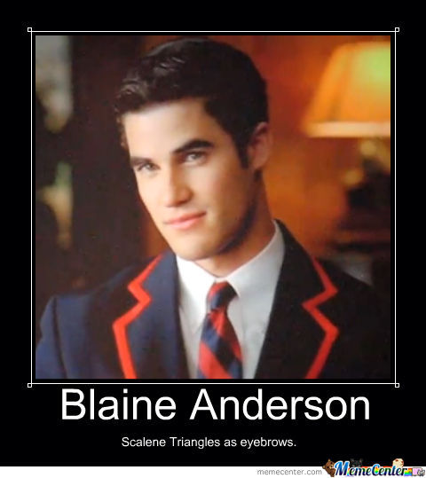 blaine anderson_o_811352 blaine anderson by itslexiee meme center