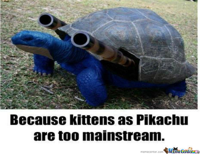 Blastoise Motherfucker