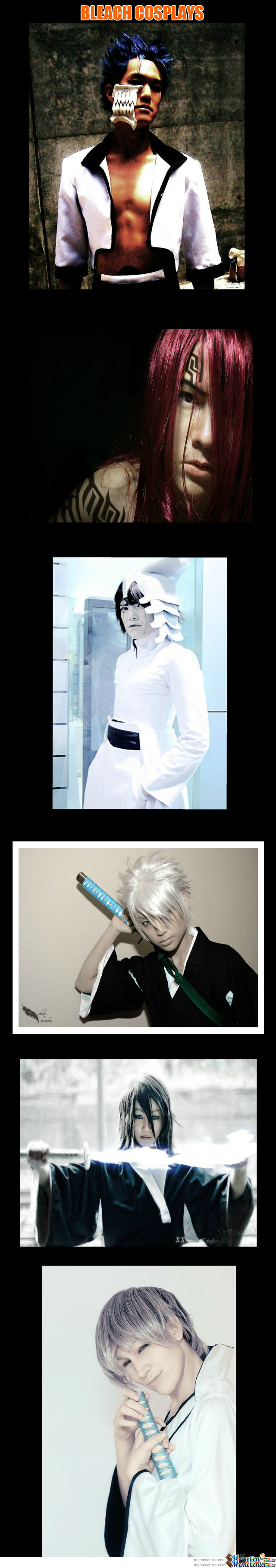 Bleach Cosplays~ Like For More!