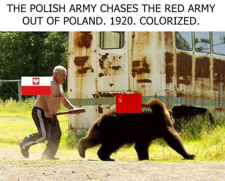 Bolshevik Army Can't Really Into Poland