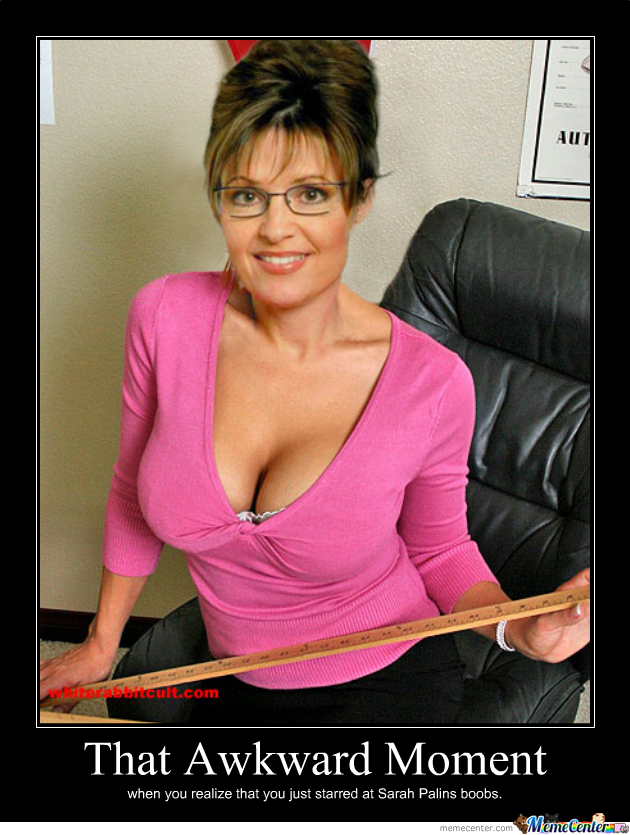 Boobs - By Sarah Palin