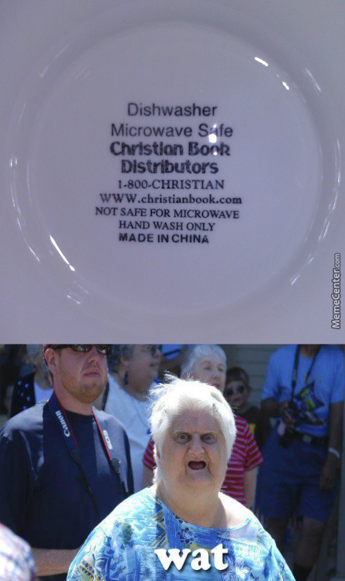 Book Distributors Are Selling Plates, Which Are Confusing Af - What Is Happening?
