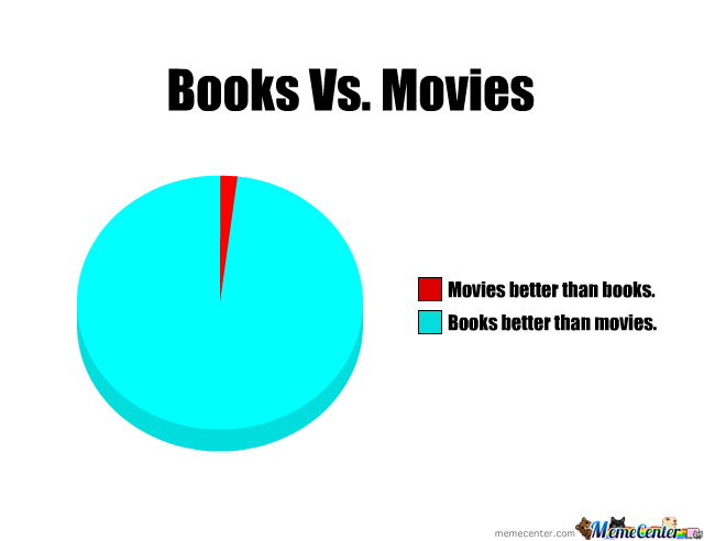 movie vs books Movie showings holiday closings  what is the difference between fiction and nonfiction  the nonfiction department has books and videos in many categories.