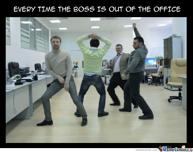 Funny Boss Out Of Office Meme Funny Png