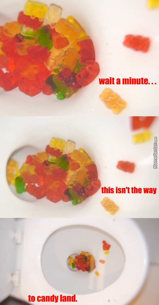 Bowl Of Gummy Bears