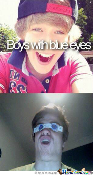 Boys With Blue Eyes..