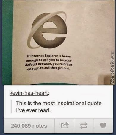 Brave Enough Like Ie!
