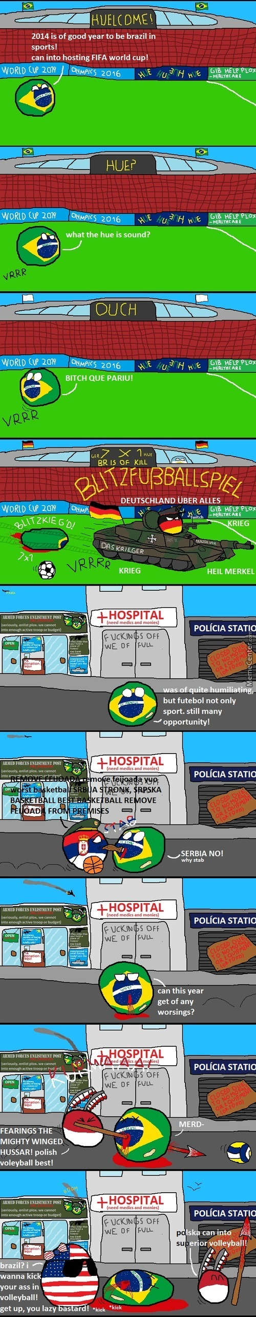 Brazil Can Into Sport