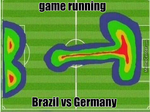 Brazil Gets Raped By Germany