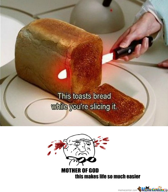Bread Toast Knife By Kubakowalczyk Meme Center