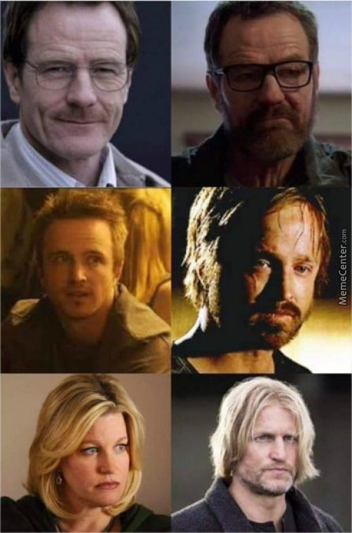 Breaking Bad Characters Then And Now