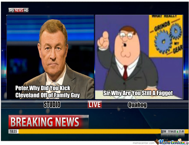 Breaking News Confrontation