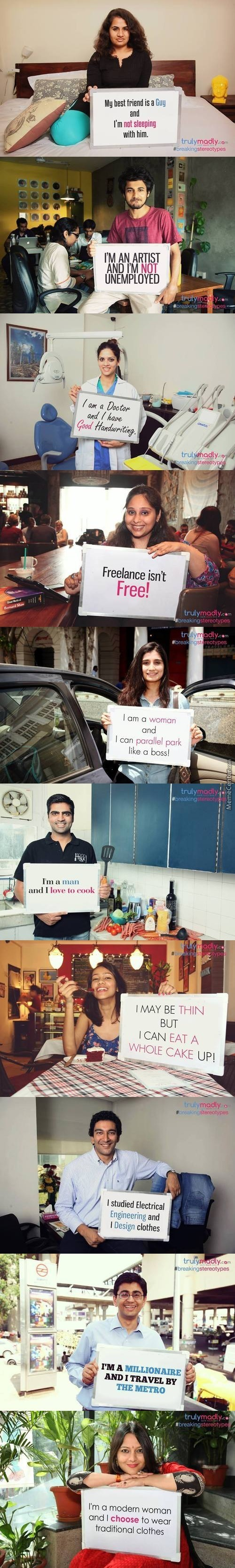 Breaking Stereotypes