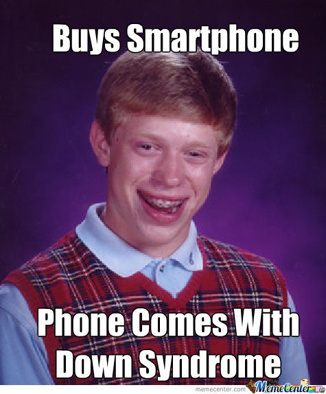 Brian Buys Smartphone