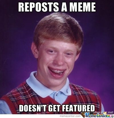 Brian Does A Repost