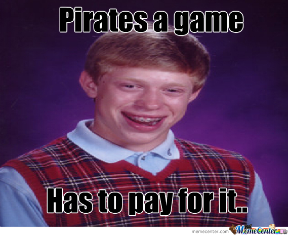 Brian Shouldn't Pirate