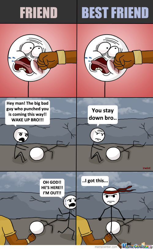 Bro Code (Short Comic)