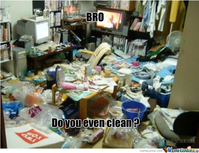 Bro Do You Even Clean