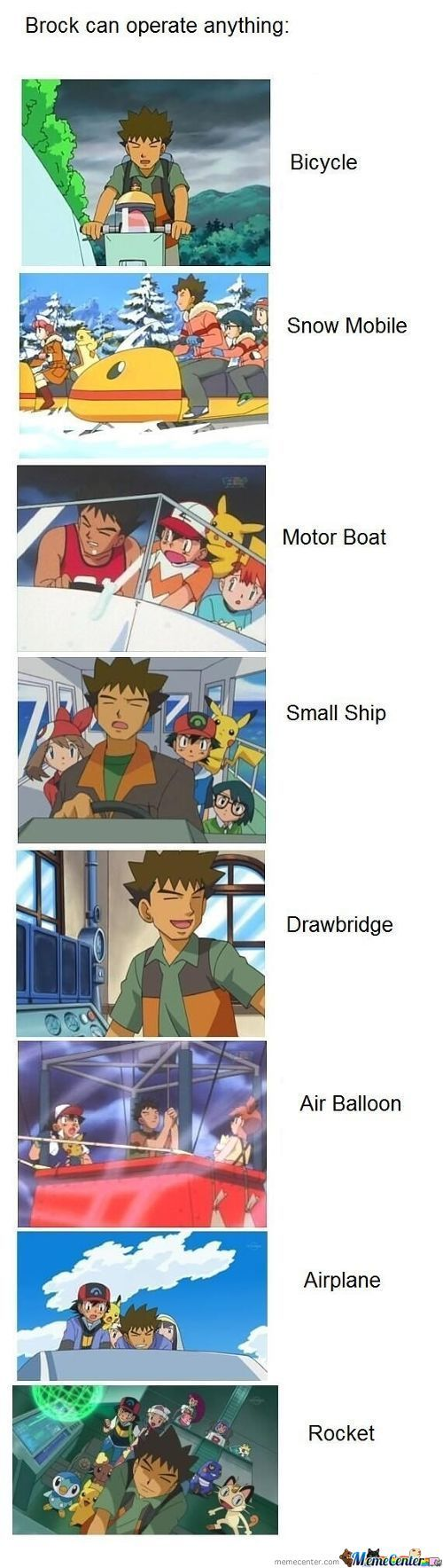 Brock Can Operate Anything...except Women