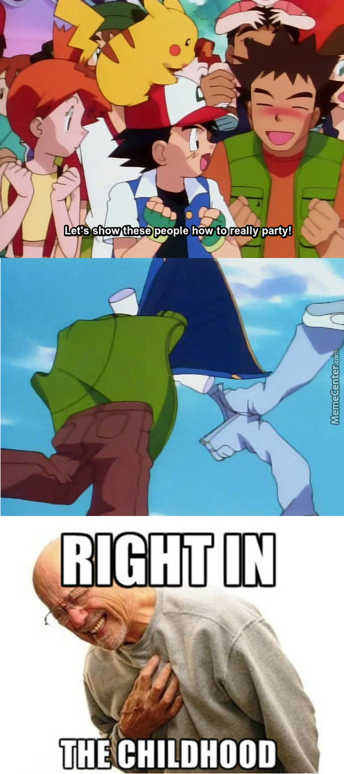 Brock Knows How To Have Fun