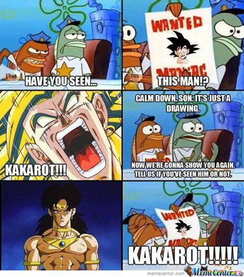 Broly Snaps