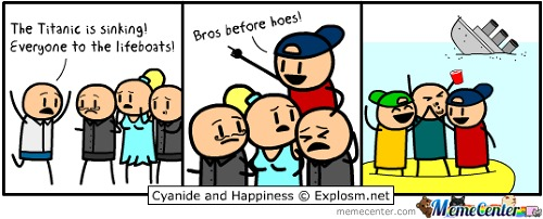 Bros Before Hoes!