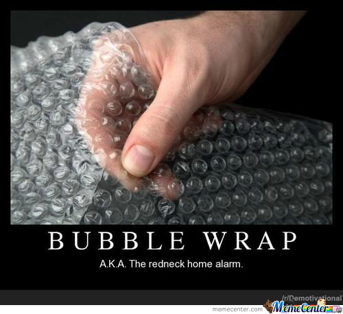 Bubble Wrap, The World's Greatest Invention
