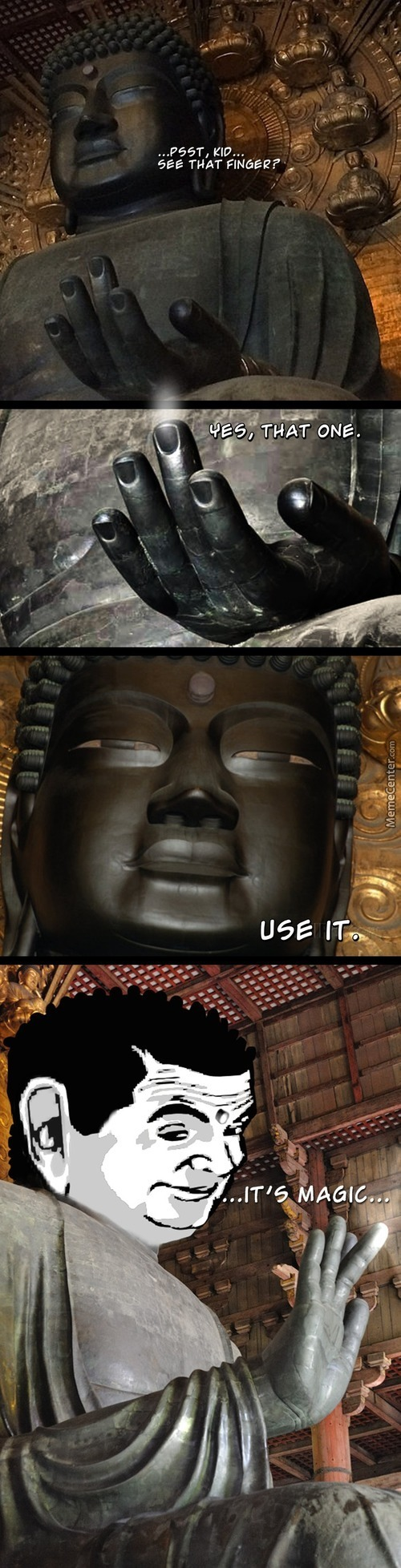Buddha Is Love ( My Gf Sends Her Regards M8)