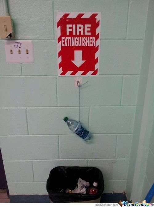 Budget Fire Extinguisher
