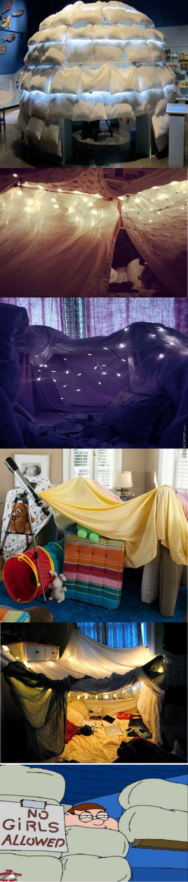 Building Forts <3