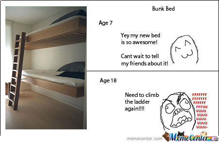 bunk bed_o_743123 bunk bed by recyclebin meme center