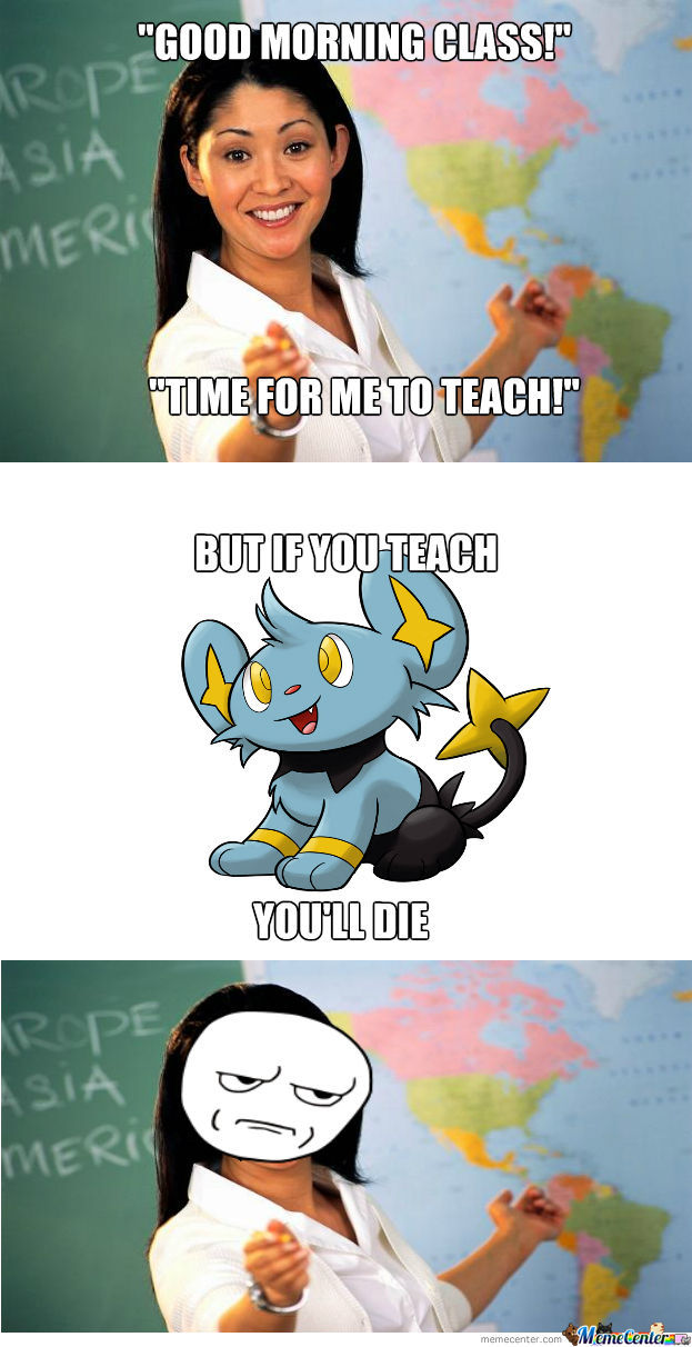 But If You Teach You'll Die