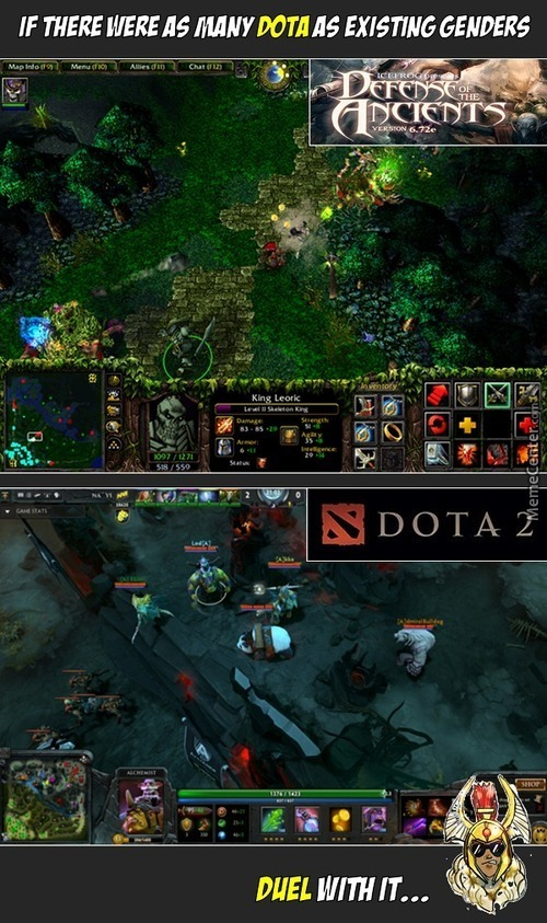 But, Is Legion Commander A Trans? Because He/she Changed Gender From A Man In Dota1 To A Woman In Dota2.