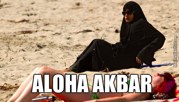 but seriously that must be super hot at the beach_o_4623621 aloha memes best collection of funny aloha pictures