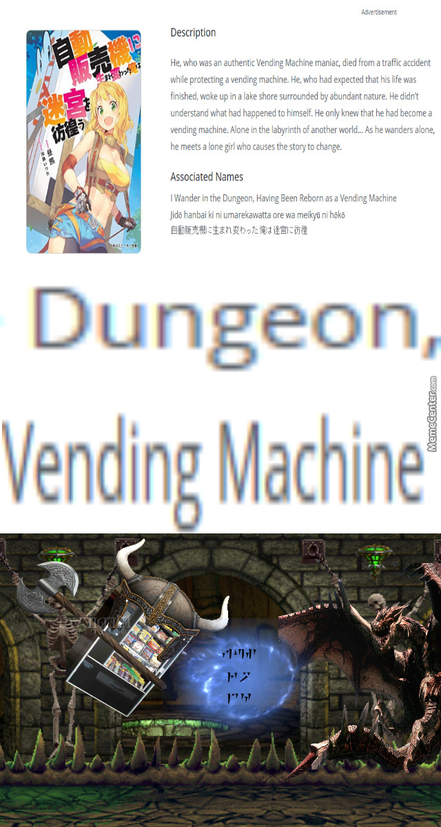 But... There Is One They Fear, In Their Tongue He Is Vending-Kiin, Vendingborn!