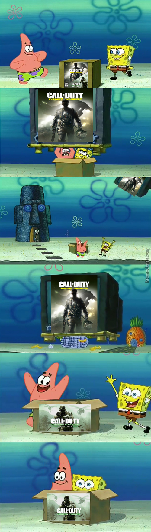 Buying The New Cod Game Be Like