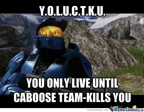 Caboose Just Being Caboose
