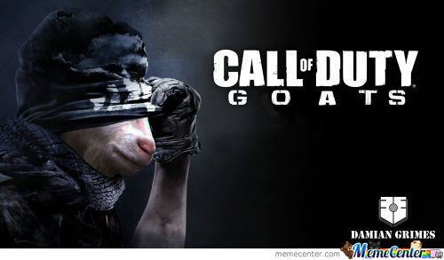 Call Of Duty Goats-I Would Play This One.