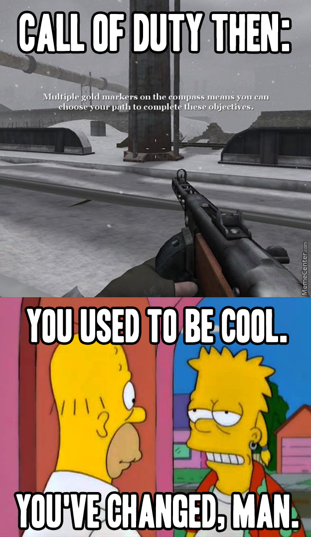 Call Of Duty Has Come A Long Way
