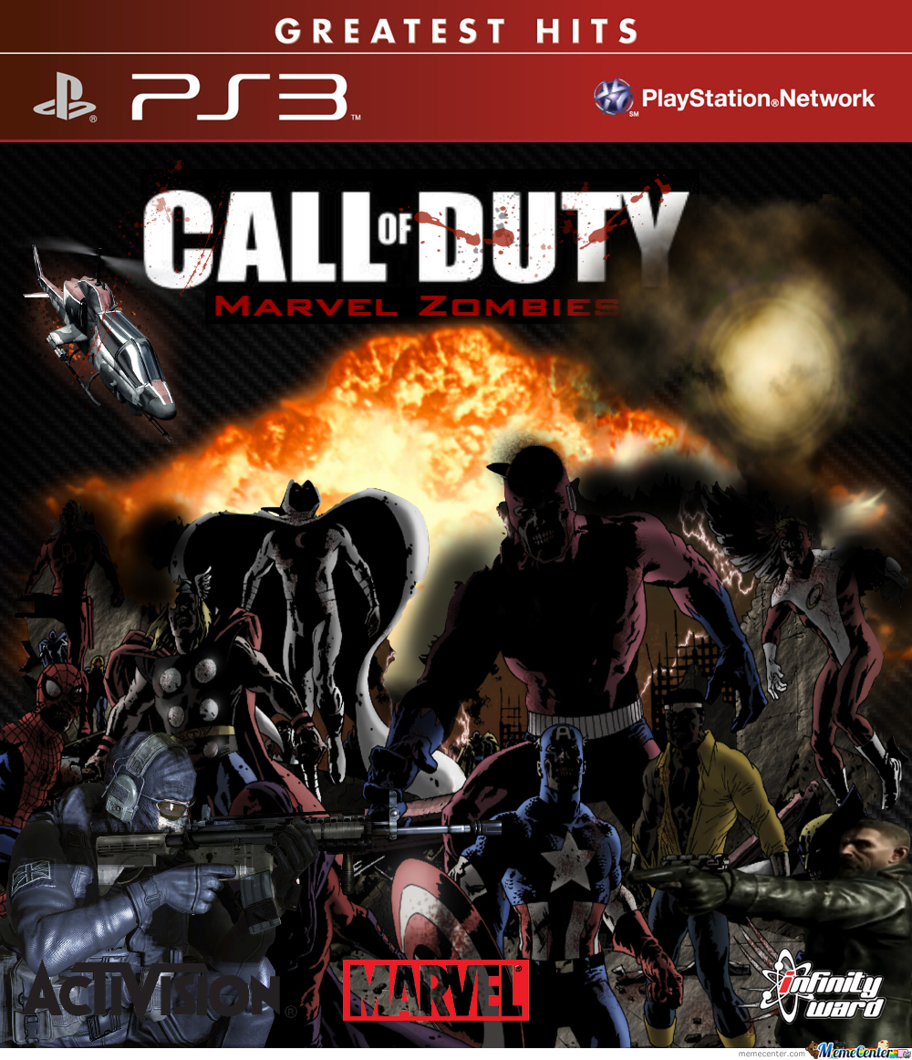 Funny Call Of Duty Zombie Memes : Call of duty marvel zombies by moraed meme center