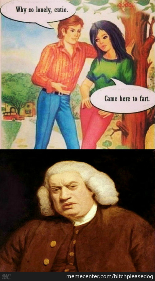 Came Here To Fart, Motherf*cker!
