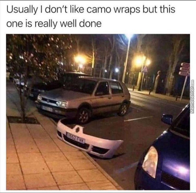 Camo Wraps Are Cool